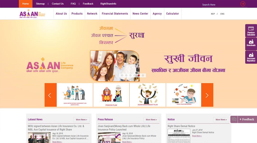 Asian Life Insurance Company