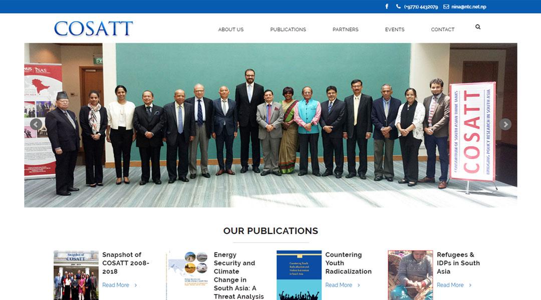 COSATT | Consortium of South Asian Think Tanks