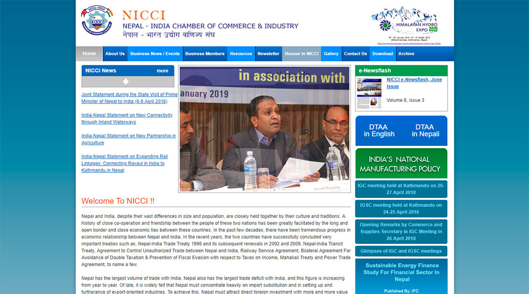 Nepal - India Chamber of Commerce and Industry